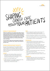 Cancer Care Marketing Material