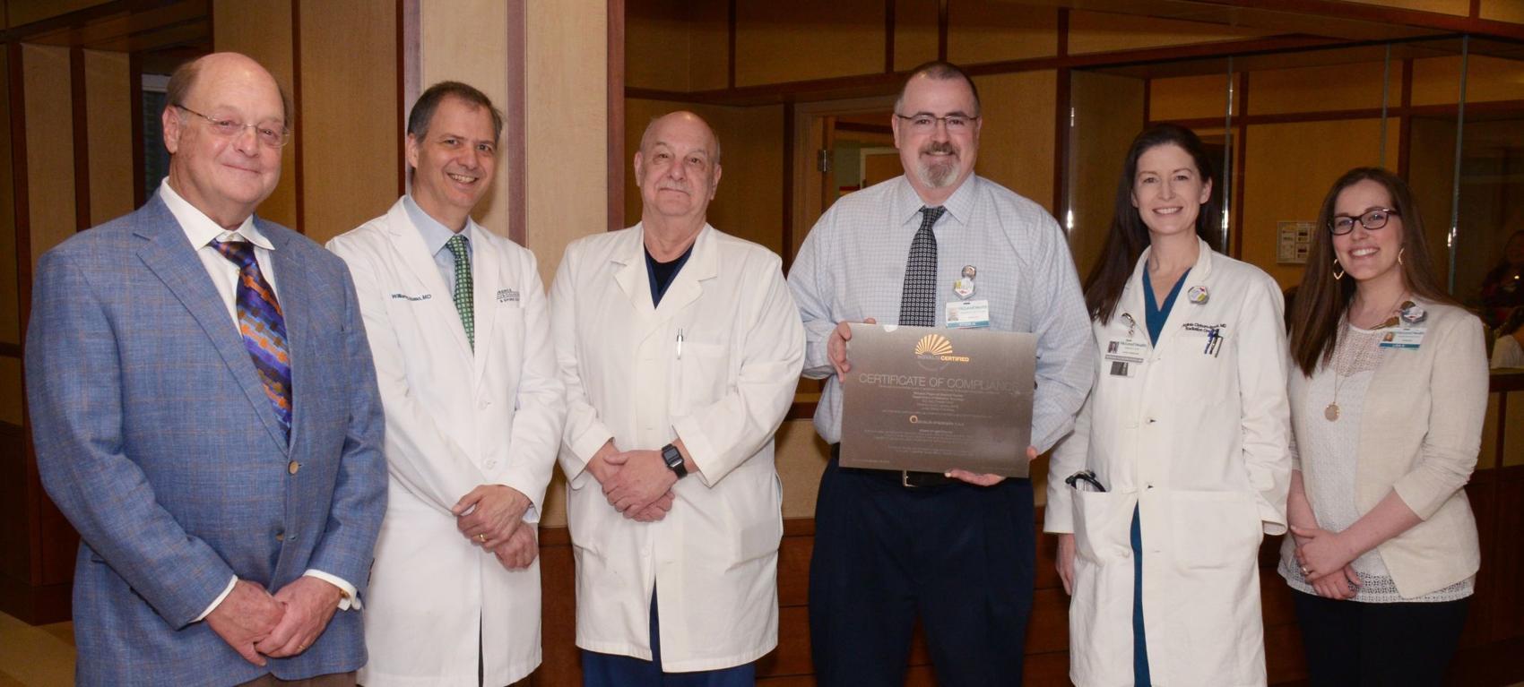 McLeod Cancer Center Completes Novalis Certification